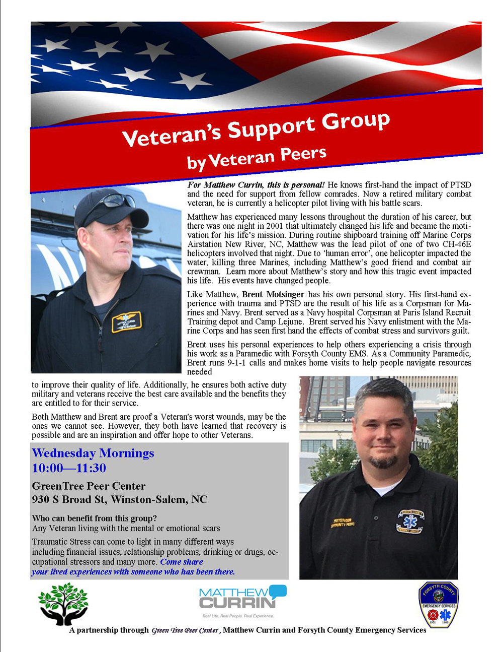 Veterans Support Group Winston Salem NC